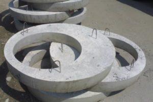 плиты перекрытия колодцев ЖБИ