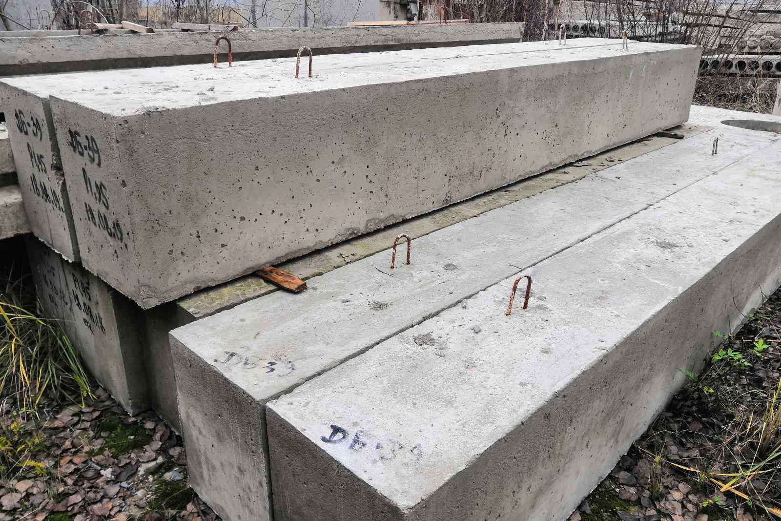 балки из бетона