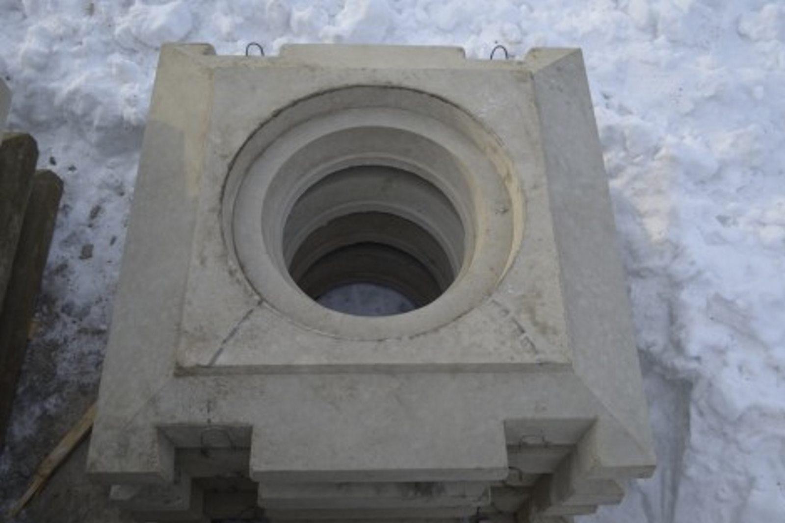 плита опорная из бетона